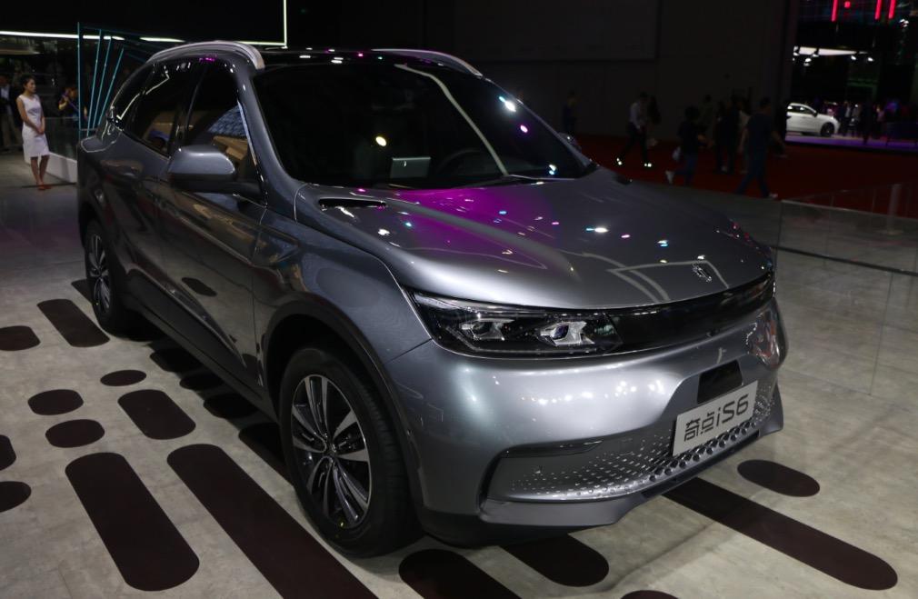 2019上海国际车展新美学候选车型——奇点is6