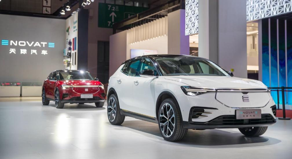 2019上海国际车展新智能候选车型——天际ME7