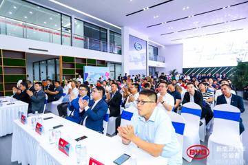 e系列合力王朝EV扩充市场,北京首家比亚迪e网店正式开业