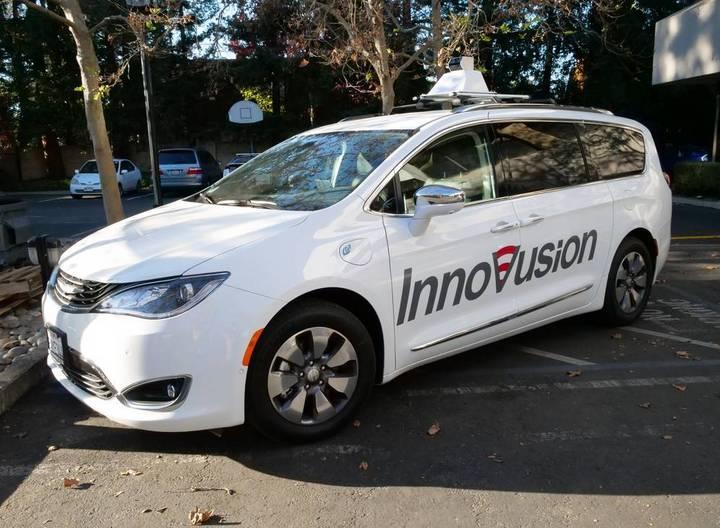 搭载在测试车上的Innovusion激光雷达原型.jpg