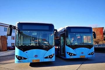 圣诞节就这么冷,进京一年的比亚迪纯电公交还扛得住么?