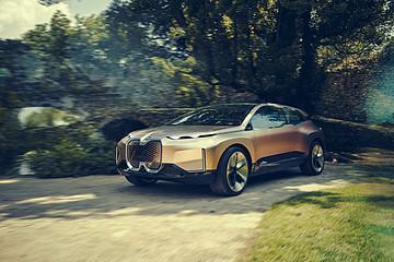 宝马新能源产品齐亮相上海车展,概念车BMW Vision iNEXT中国首发