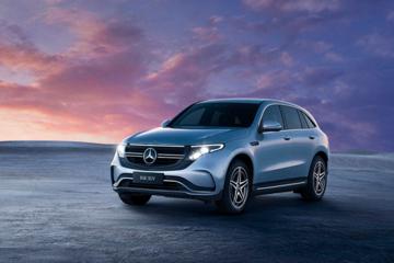 奔驰全新EQC纯电SUV上海车展中国首发,GLB概念车全球首发