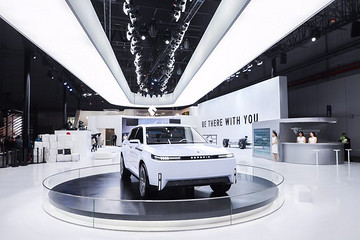 2019上海国际车展新美学候选车型——博郡SUV iV7
