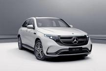 2019上海国际车展新美学候选车型——奔驰EQC纯电SUV