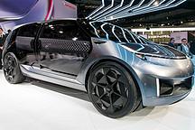 广汽底特律亮相首款美国设计的Entranze7座电动概念车