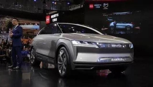 比亚迪E-SEED概念车,前奥迪设计师操刀设计,续航600公里