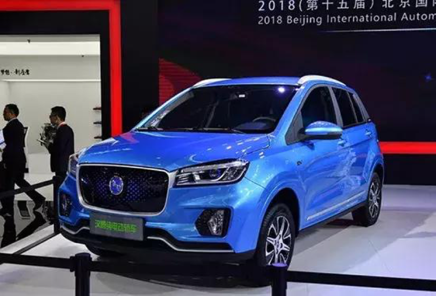 续航310公里,汉腾旗下首款新能源车型幸福e+将于3月份销售