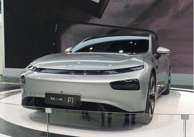 上海车展:智能电动轿跑小鹏P7正式发布,最低99元即可预定!