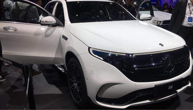 上海车展:国产奔驰EQC正式发布亮相,续航里程达450km