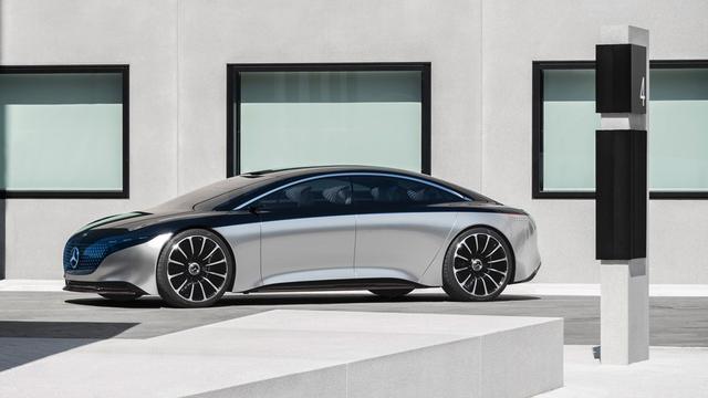 对标A8 e-Tron与电动宝马7系,奔驰EQS首秀法兰克福车展