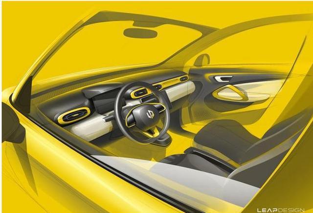 零跑汽车第二款车型暴光,设计可憎定位微型电动车