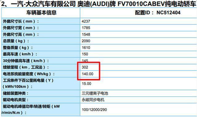 奥迪Q2L e-tron新车信息曝光,续航超300公里插图(3)