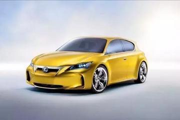雷克萨斯EV概念车谍照曝光,或成为品牌首款纯电动车