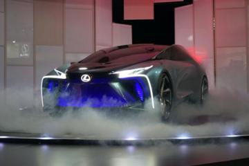 东京车展:雷克萨斯概念车亮相,百公里加速3.8秒续航500公里