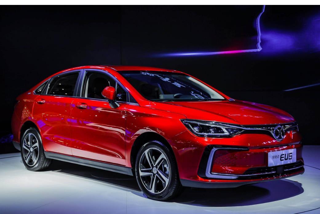 下滑62.6%,北汽新能源车11月售7005辆,全年销量也出现下滑