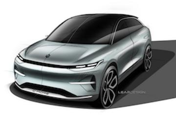 零跑汽车首款跨界SUV设计图发布 上海车展现场亮相