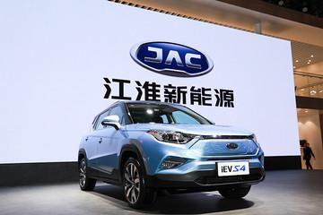 2019上海车展:江淮iEVS4上海车展正式上市 售12.95-15.95万元