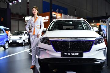2019上海车展:大乘新能源G60E上海车展上市 多功能SUV售12.18万