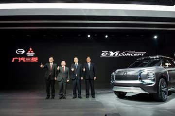 2019上海车展:广汽三菱发布5年计划 同时展出e-Yi概念车