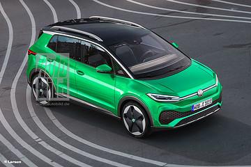 大众小型纯电动SUV,绿的生机勃勃?