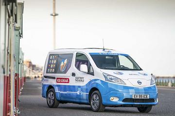 最环保的冰淇淋车 日产e-NV200 Ice Cream Concept概念车官图发布