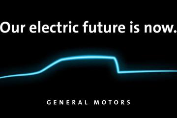 通用发布电动皮卡预告图 或于2021年推出