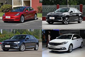 最低只需11万元 四款纯电动中型车推荐