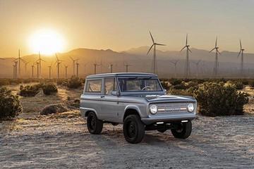 美电动车公司复活福特Bronco 售价贵过法拉利