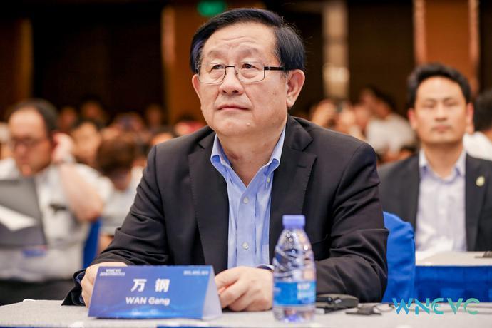 全国政协副主席,中国科协主席,世界新能源汽车大会主席 万钢