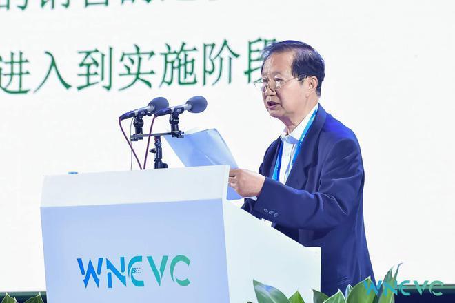 国务院发展研究中心原党组书记、中国电动汽车百人会理事长陈清泰