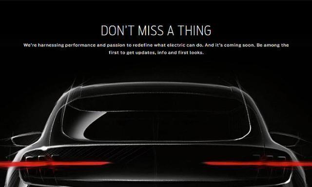 福特野马纯电动SUV车型近期亮相整体配置情况如何呢
