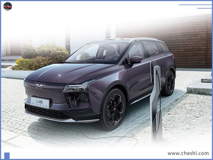 爱驰每年推一款新车 全新SUV将发布 定位高于U5-图1