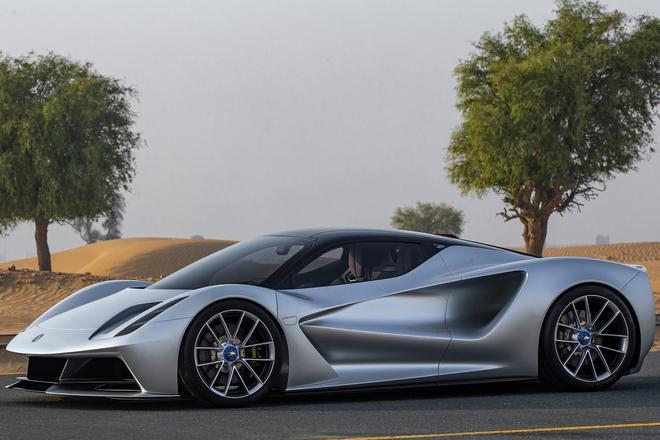 路特斯首款纯电动超级跑车Evija官图发布