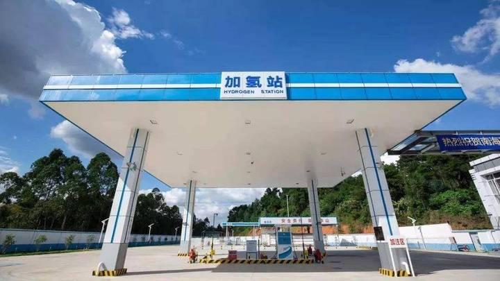 全国首个商业运营的加氢站佛山南海瑞晖加氢站