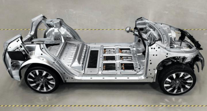 拜腾汽车的研发平台