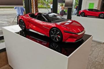 造型更酷 比亚迪e-SEED GT SPYDER曝光