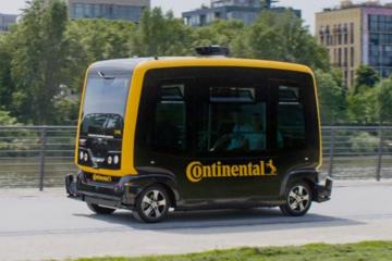 大陆推出自动驾驶车专用感知和制动技术