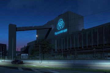 蒂森克虏伯公司推出全新轻型钢材 依然是轻量化重要材料