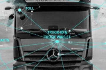 戴姆勒试点卡车ID和卡车钱包 实现支付流程自动化