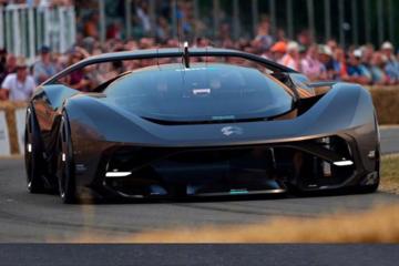 造型夸张 蔚来NIO Vision GT概念车