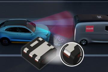 罗姆推超紧凑车用级MOSFET 可实现ADAS摄像头模块等设备的小型化