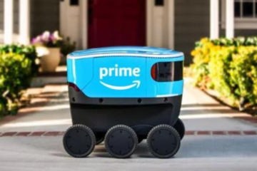 小型无人车上路 亚马逊测试新配送服务