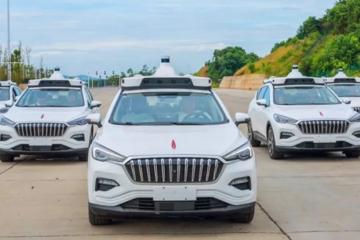 百度Q2报晒自动驾驶成绩单 已获超百张自动驾驶路试牌照