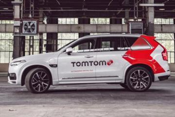 提高地图精度 TomTom推首款无人驾驶车