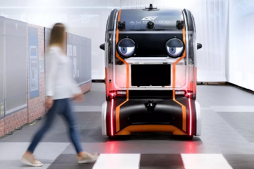 """行人如何才能更信任自动驾驶汽车?捷豹路虎为汽车装了一双""""虚拟眼睛"""""""