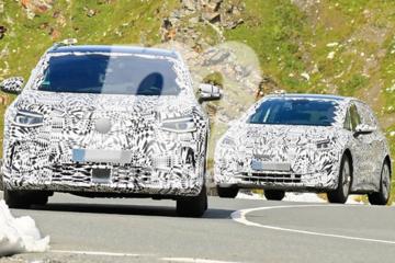 大众新纯电动SUV路试 供两种动力/内饰酷似奔驰