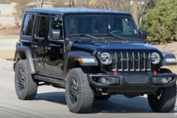 Jeep牧马人PHEV版原型车曝光!将于2020年亮相!