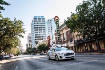 福特将在德克萨斯州奥斯汀测试自动驾驶服务