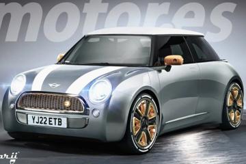 MINI新电动车渲染图 长城将国产竞争奔驰Smart